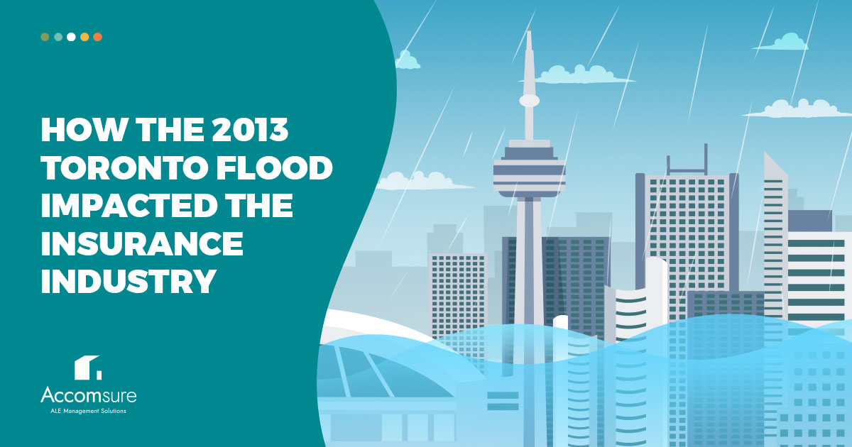 How the 2013 Toronto Flood Impacted the Insurance Industry