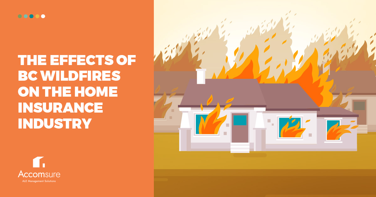 Three houses on fire